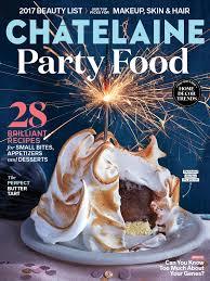 chatelaine english magazine january 2017 edition texture