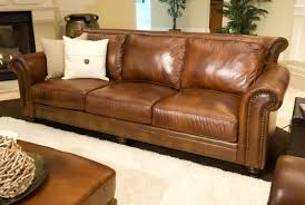 Distressed Leather Loveseat Genuine Leather Sofa And Loveseat Centerfieldbar Com