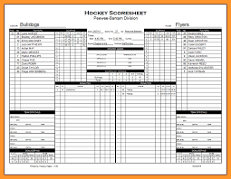 Stat Sheet Template Free Football Stat Sheet Template Sop Exle