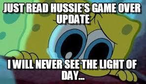 Game Over Meme - s game over spongebob cry meme on memegen