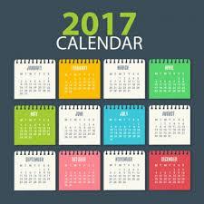 desain kalender meja keren 14 template desain kalender 2017 gratis berformat vektor typograpic