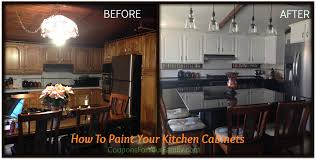 How To Paint Wooden Kitchen Cabinets Do It Yourself And Save Project How To Paint Oak Kitchen Cabinets