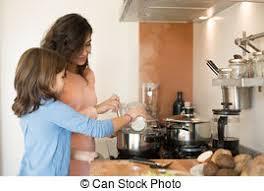 maman cuisine fille maman cuisine cuisine fille cuisine mère image de