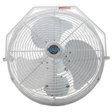 14 inch wall fan amazon com 18 durafan indoor outdoor non oscillating wall mount