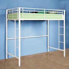 twin premium metal loft bed white ugh it u0027s from walmart but it