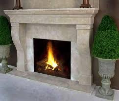 Faux Limestone Fireplace - faux stone fireplace hearth elliot fireplaces firepits best