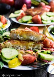 Garden Vegetable Salad by Summer Salad With Goat Cheese Filled Potato Cakes A Family Feast