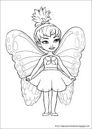 fairy kids free coloring pages art coloring pages