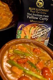 elephant cuisine yellow curry with shrimp blue elephant royal cuisine