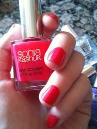 beauty review sonia kashuk for target nail polish the budget