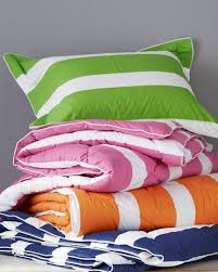 Striped Comforter Down Free Striped Comforter Garnet Hill