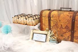 Suitcase Favors by Kara S Ideas Vintage Suitcase Favor Boxes Decor From A