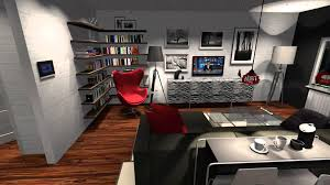 simple separate kitchen and living room luxury home design cool