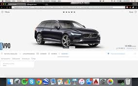 build your own volvo you can now build your own volvo v90 in volvo u0027s own car configurator