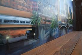 cityscape exterior wall mural graffiti artist melbourne project description