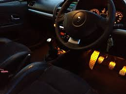 renault clio 2002 interior wiring led strips in footwells advice cliosport net