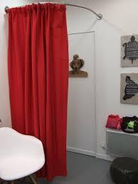 tringle a rideau pour cabine d essayage d angle galbobain