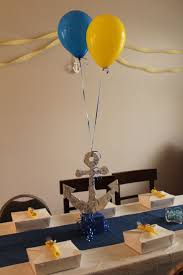 Centerpiece For Baby Shower by Best 25 Anchor Baby Showers Ideas On Pinterest Nautical Theme