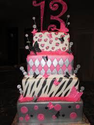 mymonicakes three tier pink u0026 silver animal print cake with 3d