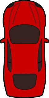 car clipart image of car clipart top view 8575 ambulance car top view vector