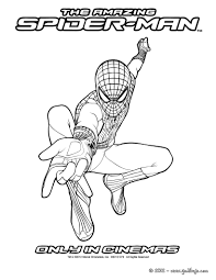 spiderman3 coloring pages kids free