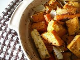 Recipe For Roasted Root Vegetables - roasted root vegetables with herbs de provencal recipe bakespace