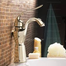 Bathroom Faucets Reviews by Single Hole Bathroom Faucet Reviews Polished Brass 129 99