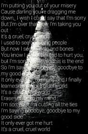 Black Flag Depression Lyrics The 25 Best Cruel World Lyrics Ideas On Pinterest Lana Del Rey