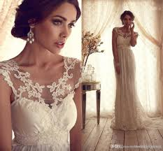 download vintage lace top wedding dresses wedding corners