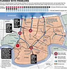 New Orleans Flood Zone Map by How Where New Orleans Drainage Pumps Will Won U0027t Work After Power