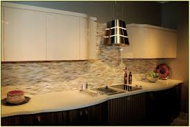 Kitchen Metal Backsplash Ideas by Kitchen Backsplash Ideas On A Budget Brush Nickel Low Arch Single