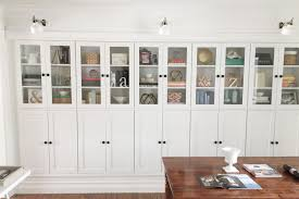 Bookcase With Doors Ikea Hacks The Best 23 Billy Bookcase Built Ins