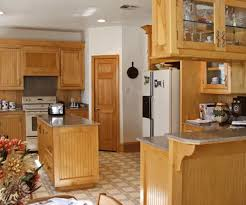 charming maple kitchen cabinets and wall color looking for paint