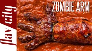 the zombie arm halloween food ideas youtube