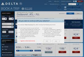 delta warns you prior to purchase of basic economy fare u2014 but is
