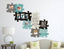 christian wall art puzzle piece picture frame