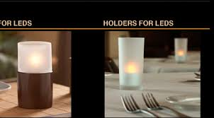 dbc flameless candles battery operated candle led candles