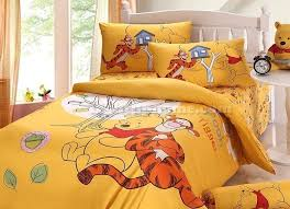 Tiger Comforter Set Yellow Winnie The Pooh And Tiger Bedding Boys Bedding Sets Kids