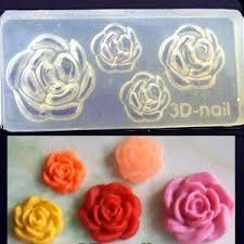 freeshipping 40 acrylic gel nails 3d nail art molds diy nail art