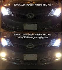 lexus is 250 xenon headlights 4300k vs 5000k hid color temperature comparison clublexus
