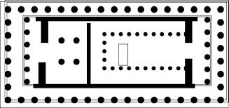 floor plan of the parthenon greek temple architecture construction parts study com