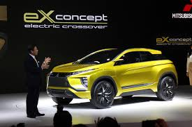 mitsubishi electric mitsubishi ex concept previews future all electric outlander sport
