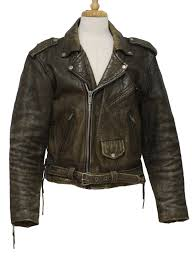 mens leather motorcycle jackets retro 80 u0027s leather jacket 80s missing label mens distressed