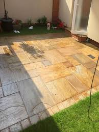 Indian Sandstone Patio by Buff Sandstone Indian Sandstone Paving Slabs