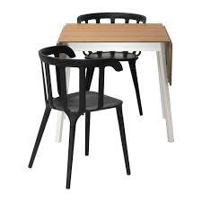 ikea bamboo table top ikea ps 2012 ikea ps 2012 table and 2 chairs bamboo black 74 cm ikea