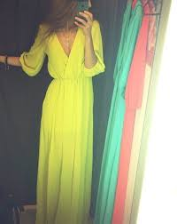 summertime dresses with sleeves dress yello maxi summer