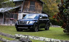 nissan armada off road nissan takes on luxury with the new 2018 armada platinum reserve