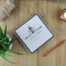Pocket Fold Invitations Personalised Folded Wedding Invitations Uk Ribbon Wedding