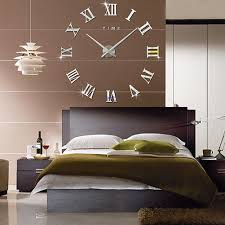 furniture large decorative wall clocks a roman number with a