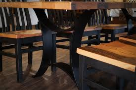 Dining Room Tables Reclaimed Wood by Reclaimed Wood Golden Gate Dining Table